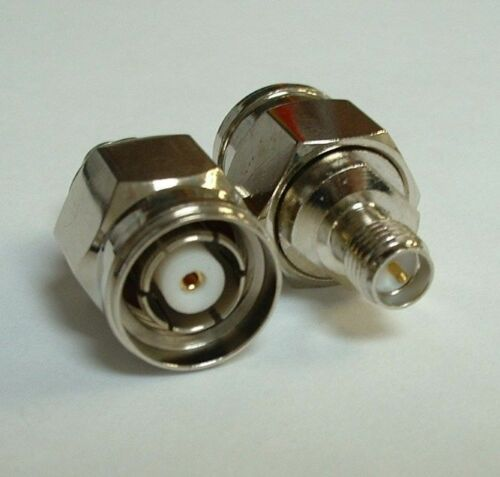 RP SMA Female to RP TNC Male Straight Coupler Connector Adapter RPSMA High