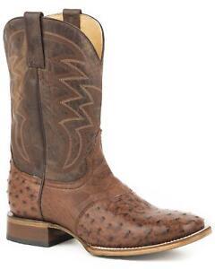 ROPER Womens Faux Teju Lizard Cowboy Boot Snip Toe