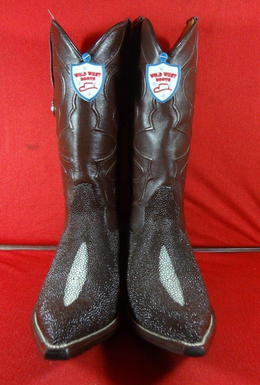 Herren Exotic STINgrau  Western Cowboy Stiefel C94