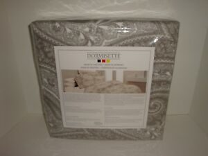 Dormisette-Wulfing-Luxury-Flannel-Taupe-Paisley-Queen-Duvet-Cover-Standard-Shams