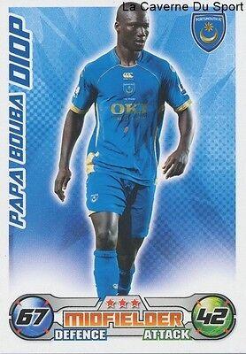 Papa Bouba Diop Senegal Portsmouth Fc Rc Lens Card Premier League 2009 Topps Ebay