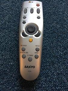 Rechercher Des Vols Genuine Sanyo Cxjh Projecteur Télécommande-excellent état, Très Peu Utilisé-afficher Le Titre D'origine éConomisez 50-70%