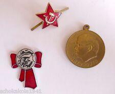 Sowjetunion UDSSR mit Lenin Abzeichen