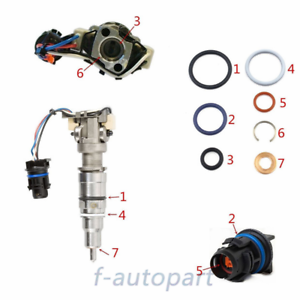 Injector Seal Kit for 6.0L//4.5L Ford Power Stroke Engines and Navistar Engines