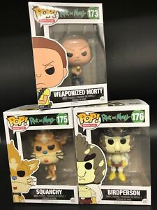 Funko Pop Animation Rick and Morty Weaponized Morty Vinyl Figure No 12440