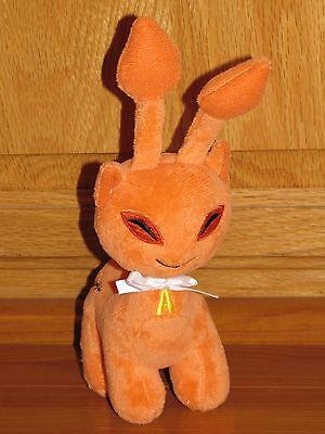 Rare Neopets Orange Aisha plush plushie Series 4 Saimese Alien Cat New No Code