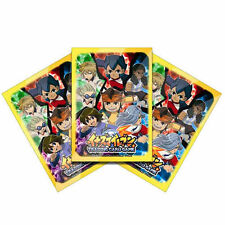 TAKARA TOMY INAZUMA ELEVEN TRADING CARD GAME 42PCS TCG OFFICIAL CARD PROTECT 5