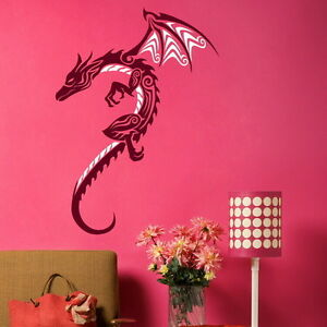Chinese Dragon Large Wall Mural Decor Decal Giant Stencil