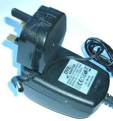 2,5x5,5mm 6V 1A Stecker Original Netzteil DVE DV-061AUP-5716 Output