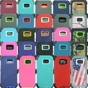 For-Samsung-Galaxy-S7-Edge-Defender-Case-Cover-w-Belt-Clip-Fits-Otterbox
