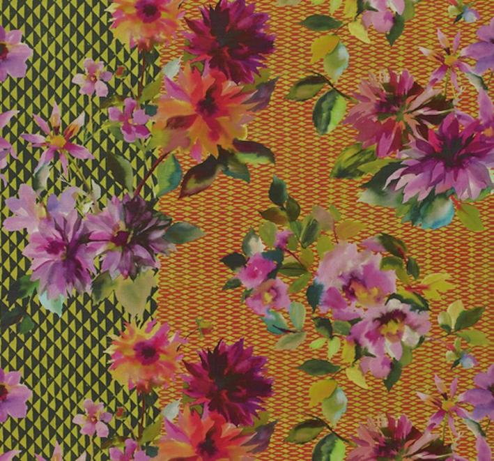 Designers Guild Tissu manchua Alchémille vulgaire FDG2821 01 Jaipur Rose Collection