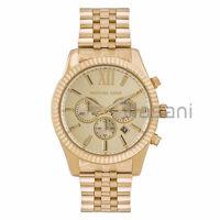 Michael Kors Original MK8281 Men's Stainless Steel Gold-Tone Chrono Watch