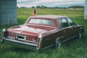 1986 Cadillac Fleetwood brougham de elegance