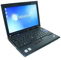 Cheap Laptop IBM Lenovo 1.6Ghz 1GB 60GB Core 2 Duo WiFi Windows 7 & Office X60