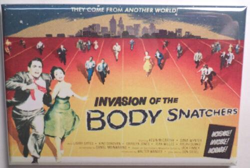 "Invasion of the Body Snatchers Movie Poster 2/"" x 3/"" Refrigerator Locker MAGNET 2"