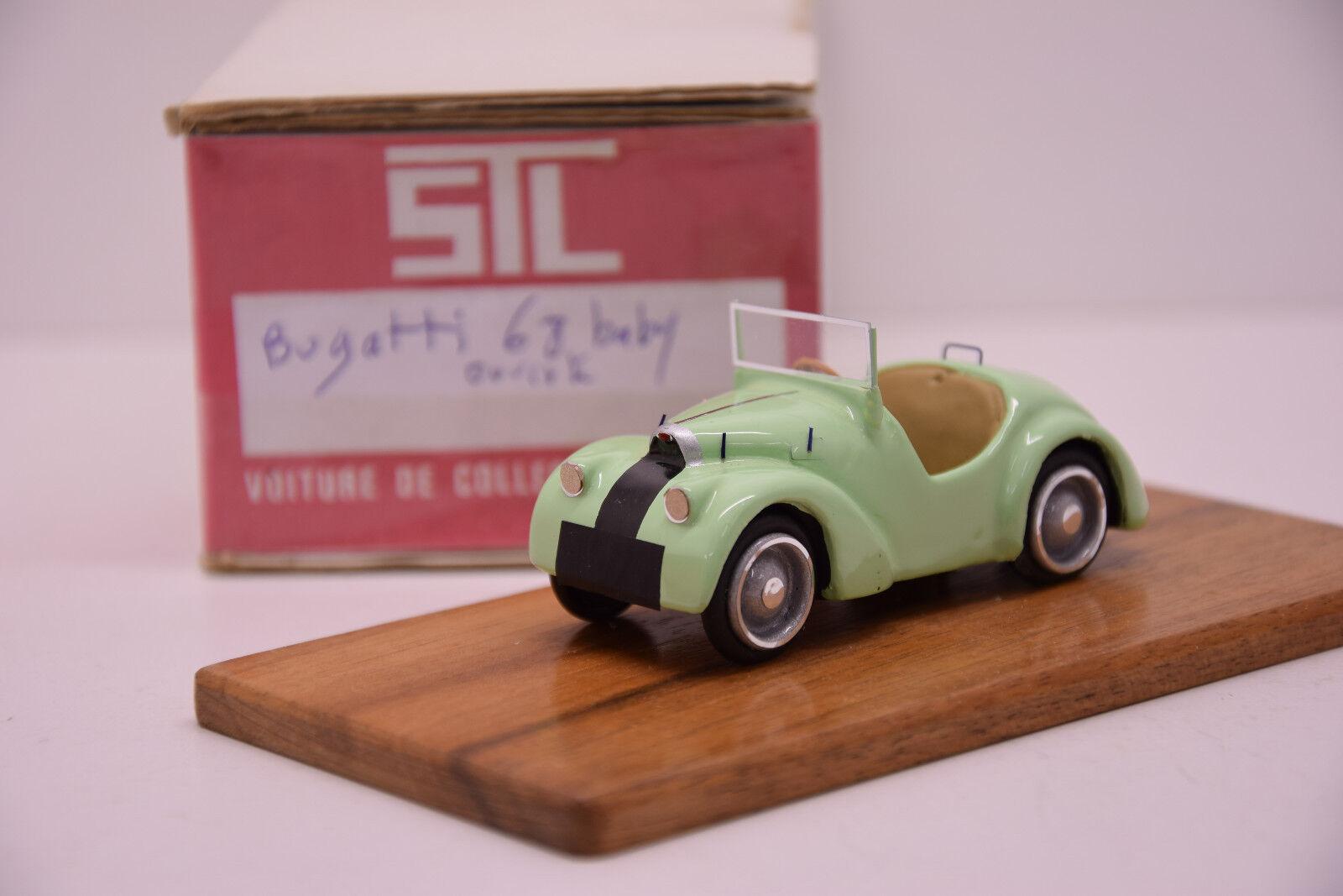 BUGATTI 68 BABY OUverdeE verde CLAIR STL 1 43 MONTAGE USINE