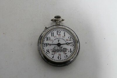 Watches, Parts & Accessories Antique Antique Vintage Old Swiss Made Roskopf For The Railways Pocket Watch.