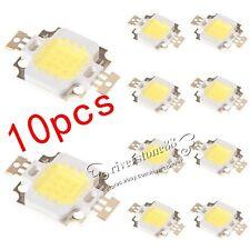 High Power 10pcs 10W Cool White  800-900LM LED light Lamp SMD Chip DC 9-12V Hot