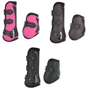 Horka Tendon and Fetlock Boots Large Black cudarpy5PD