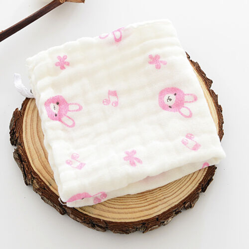 6 Layer Baby Bibs Towel Cotton Soft Saliva Towel Toddler Lunch Bibs Burp Clothes