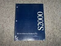 2002 Honda S2000 Convertible Electrical Wiring Diagram Troubleshooting Manual