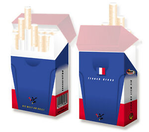Luxus Zigarettenetui Strass Leder Standard Packung schwarz von LEDASS92 Neu