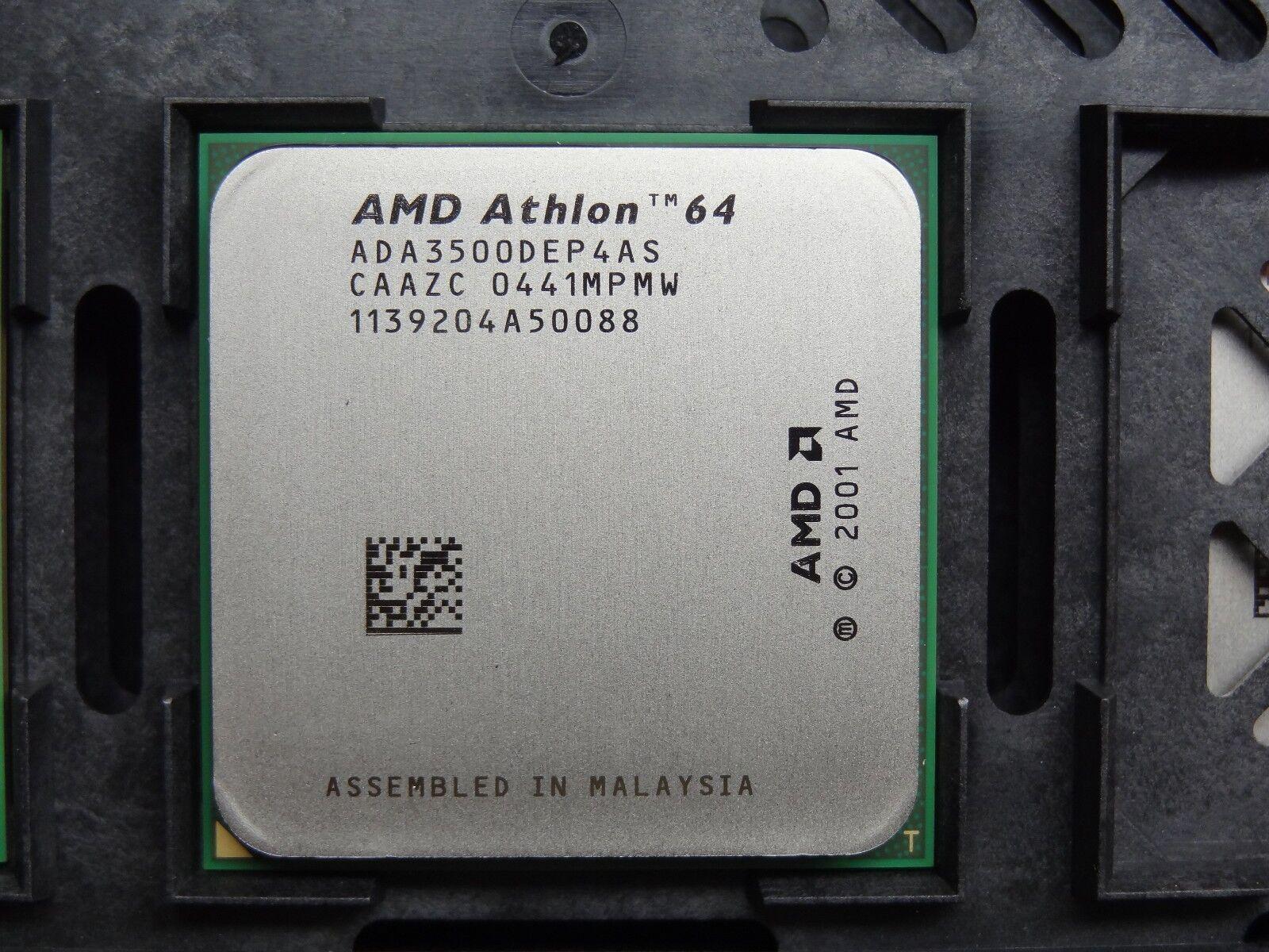 AMD Athlon 64 3500+ 2.2GHz (ADA3500DEP4AS) CPU Processor #TQ1523