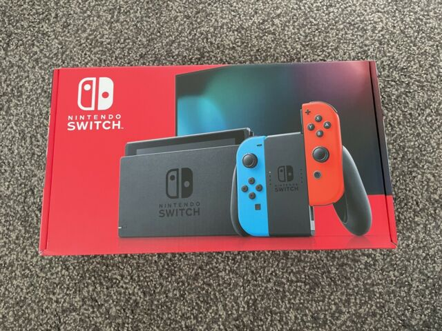 Brand New Nintendo Switch - Neon - Gaming Console