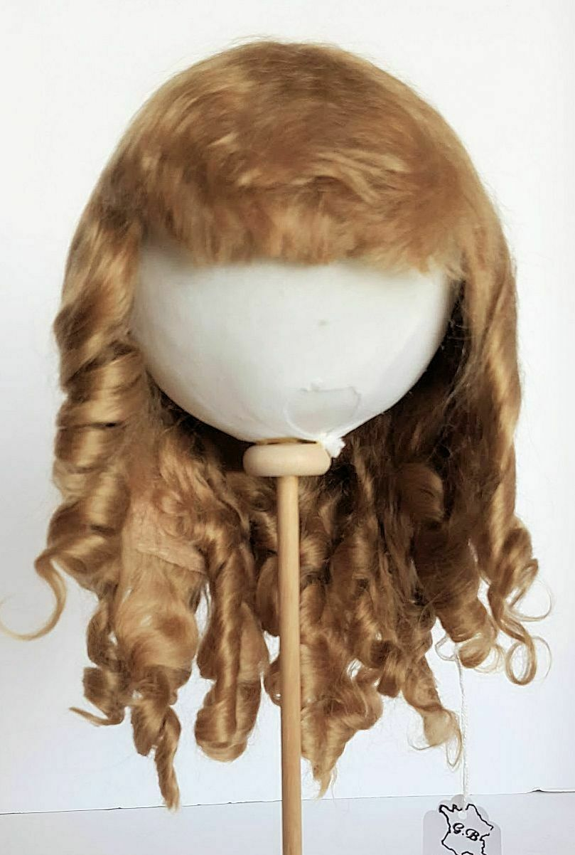 French Mohair Wig - Emelie Extended Length - French German Größe 9 Dark Blond
