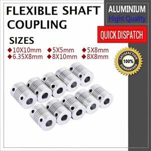 Flexible-Shaft-Motor-Coupling-Coupler-Stepper-CNC-3D-Printer-5mm-6-35mm-8mm-10mm