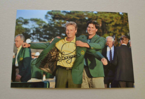 Berhnard Langer Signed 6x4 Photo The Masters Memorabilia Autograph + COA