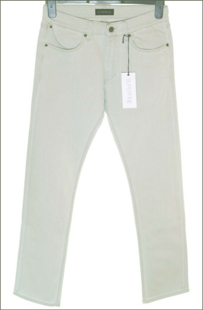 BNWT MEN'S SUPERFINE SKINNY SLY STRETCH JEANS W30