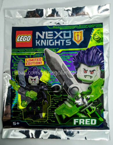 ORIGINAL LEGO NEXO KNIGTS Foil Pack Limited Edition Minifigures Polybag
