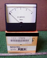1 New Simpson 1t870 0 10 Analog Panel Meter Nib Make Offer