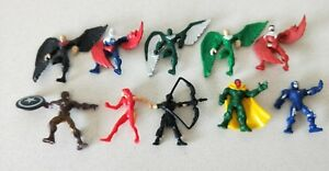 RANDOM-Marvel-Set-of-10-Superheroes-Mini-Action-Figures-New-Without-Tags