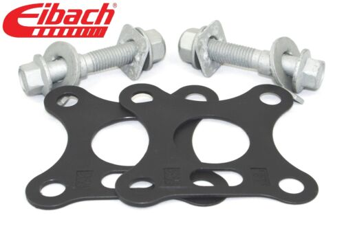Pair Eibach Front Camber bolts /& Rear Camber Shims Kit ± 1° Civic Type-R 06-on