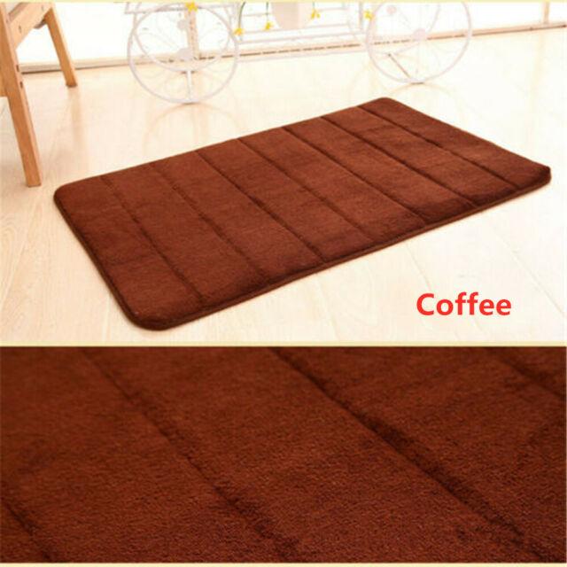 Absorbent Memory Foam Non slip Carpet Bath Bedroom Bathroom Floor Shower Mat Rug