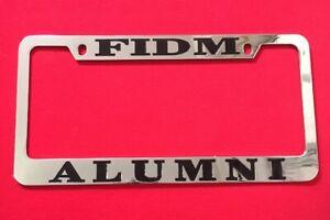 Fidm Alumni License Plate Frame Fashion Institute Of Design And Merchandise Ebay