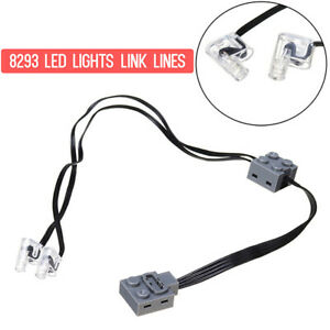 LED-Lights-Electric-Technic-Power-Functions-8870-Motor-Assembled-Kit-For-Lego