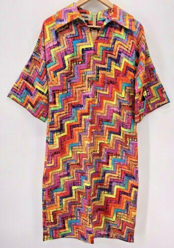 Vintage 70's Tori Richard I. Magnin Dress Size 10