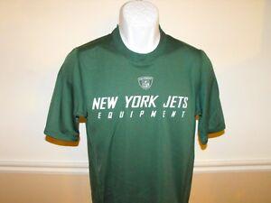 Nuevo-New-York-Jets-Reebok-Hombres-Pequeno-S-Seco-para-Compresion-Camisa