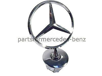 Genuine Mercedes C Class 2008-On E Class//S Class 2006-On Bonnet Logo Star