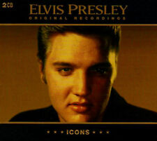 ELVIS PRESLEY ~ ICONS 2 CD ORIGINALS 1954 -57 ROCK N ROLL LEGEND