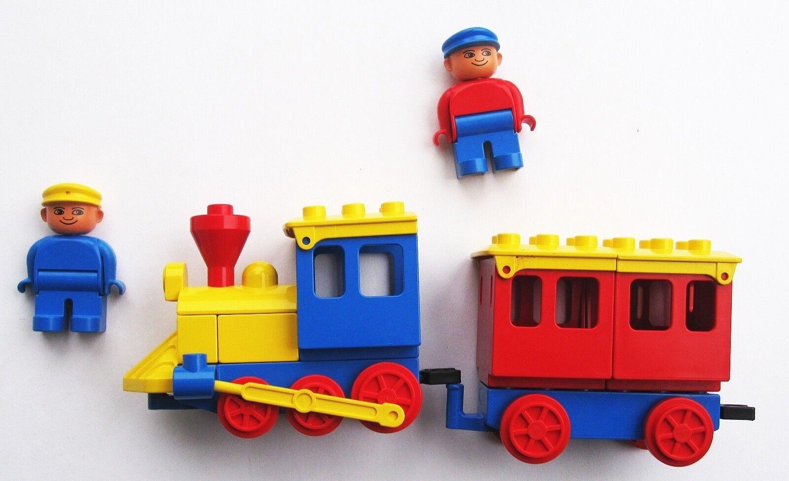1983 Lego Duplo Play Passenger Train  2705 Vintage No Shovel GREAT Condition
