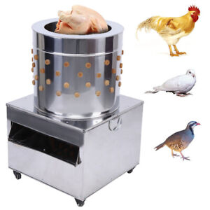Details about Stainless Steel Poultry Plucker Chickens Machine Feather  Birds Plucking 50-Model