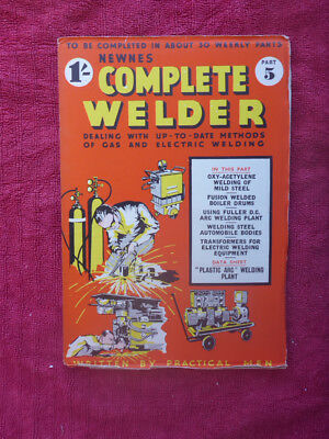 Cnc & Metalworking Supplies Vintage Newnes Complete Welder Magazine Part 5 Nourishing Blood And Adjusting Spirit