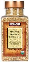 Kirkland Signature Organic No-salt Seasoning, For Burger & Meats 14.5 Oz