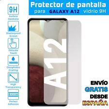 Lote Protector de Pantalla para Samsung Galaxy A12 Cristal Templado Vidrio 9H
