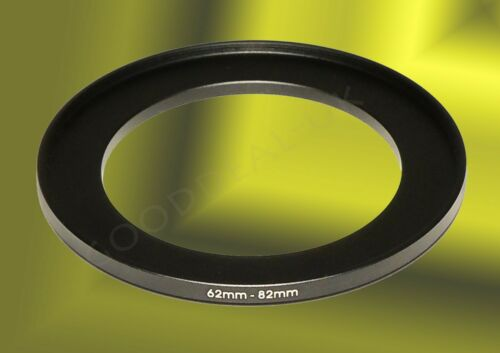 62mm to 82mm 62-82mm 62mm-82mm 62-82 Stepping Step Up Filter Ring Adapter UK
