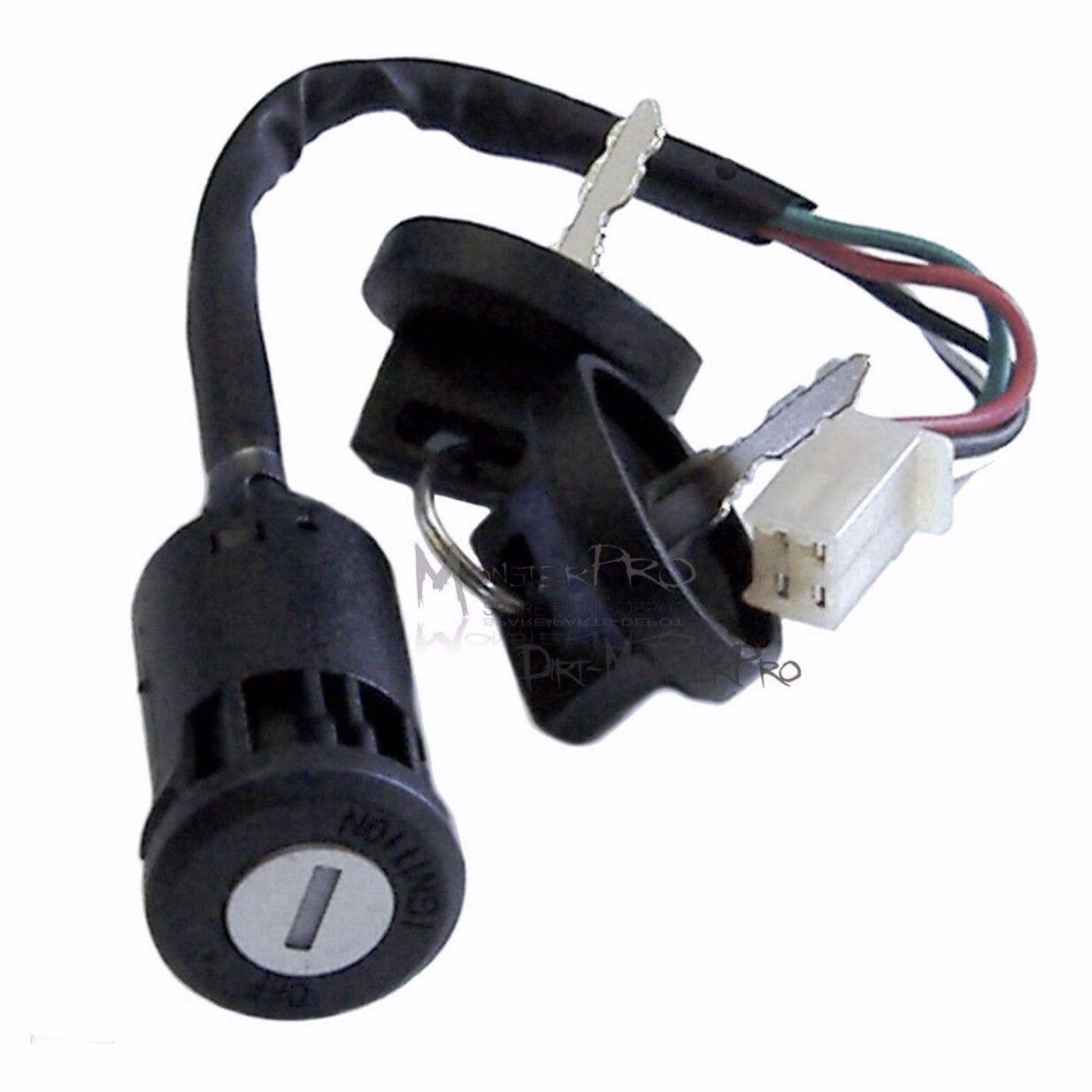 Complete 4 Stroke Dirt 250cc Bike Kick Electric Start Engine Wiring Kandi Wire Harness Assembly Loom Ebay